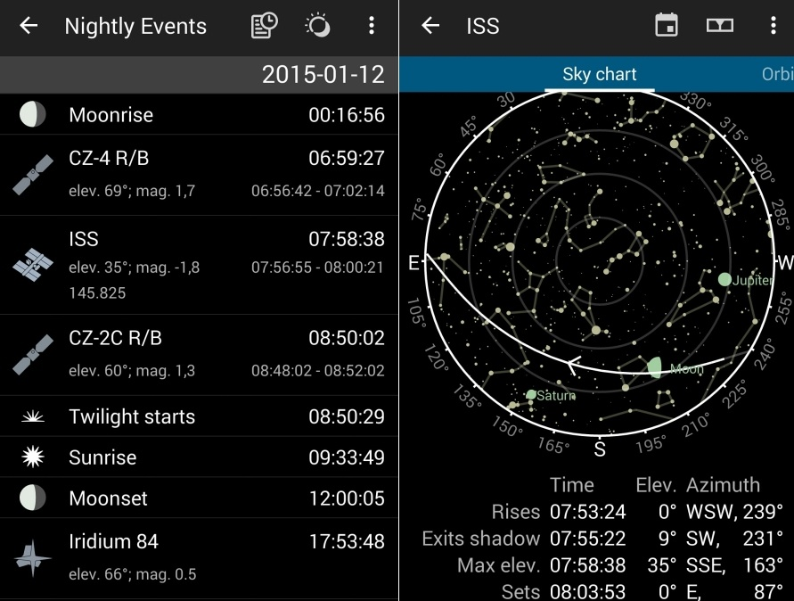 Онлайн, оффлайн и мобильные планетарии - 16