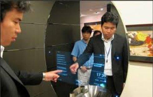 Panasonic представила умное зеркало