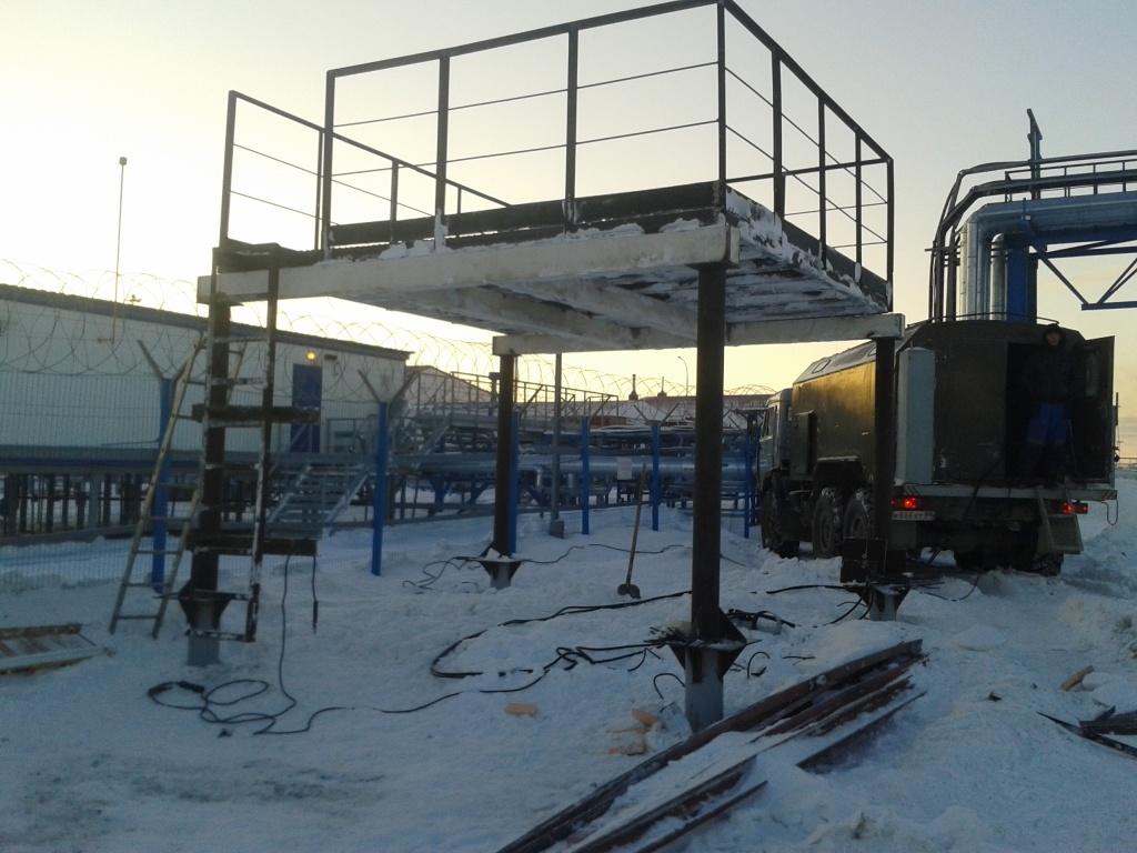 Бованенково – организация связи на месторождении газа №3 в России с БС на вечной мерзлоте - 2