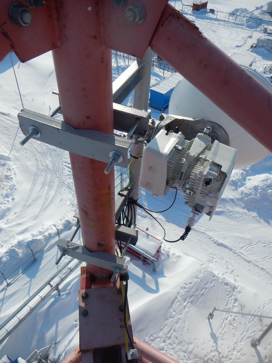 Бованенково – организация связи на месторождении газа №3 в России с БС на вечной мерзлоте - 1