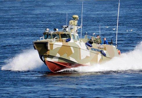 Черное море будут патрулировать боевые катера Раптор (видео)