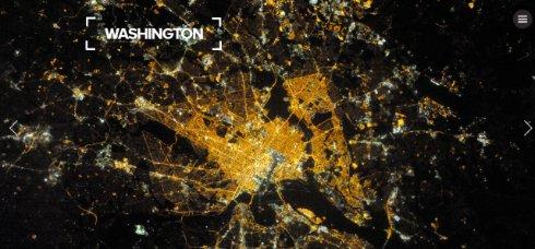 Космонавт МКС показал как выглядят ночные города из космоса (ФОТО)