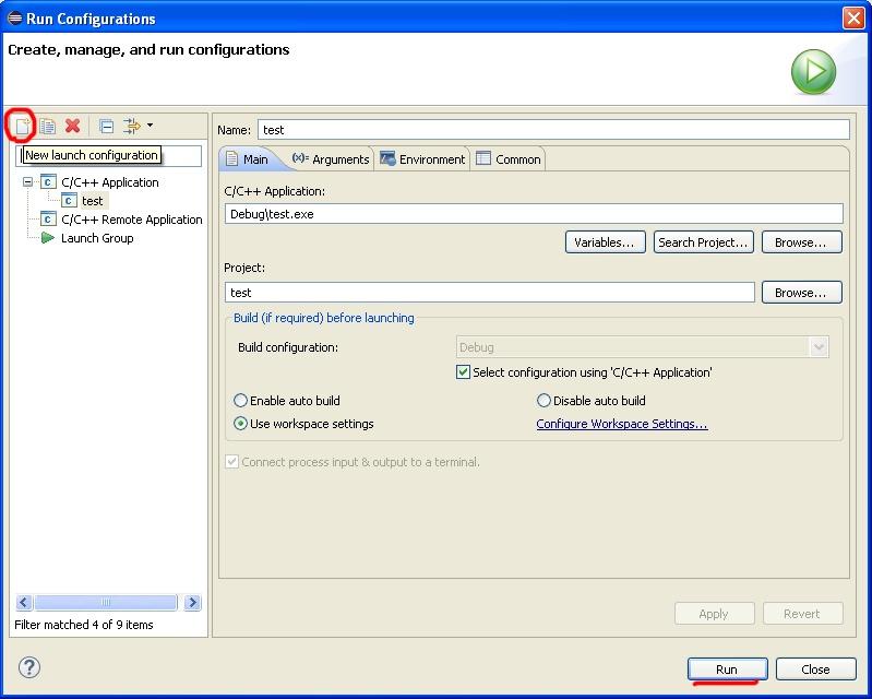 Настройка проекта C++ в Eclipse на примере приложения SFML - 6