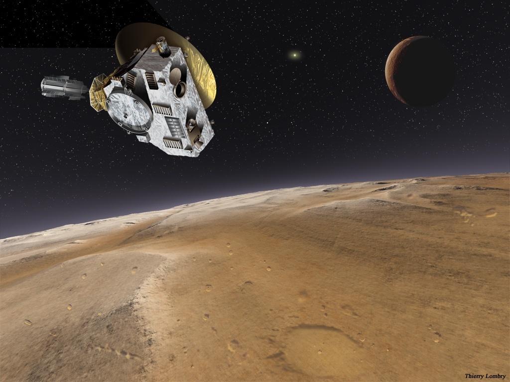Сегодня станция New Horizons начнет фотографировать Плутон - 1