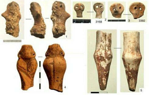 В Украине нашли гигантский храм возрастом 6000 с фигурками людей с клювами