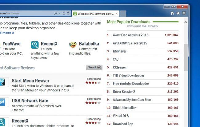 Вот что будет, если установить топ-10 программ с Download.com - 2