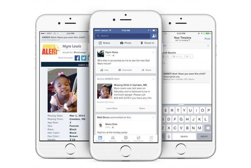 Facebook теперь будет помогать в поиске пропавших детей - 1