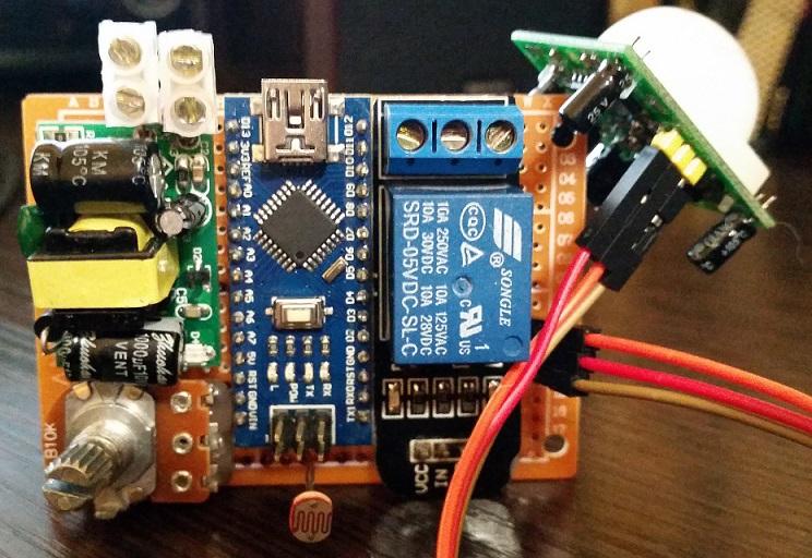 Автоматическое освещение для балкона на Arduino - 6