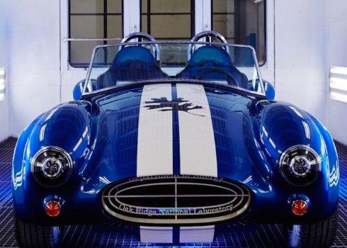 На Детройтском автосалоне показали 3D напечатанную Shelby Cobra