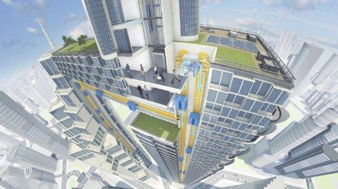 Немецкие инженеры создадут маглев лифт, перемещающийся во всех направлениях (видео)