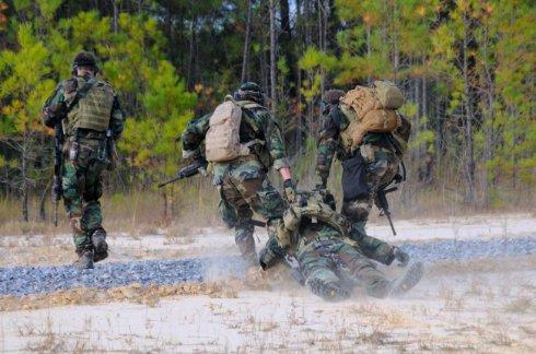 Раненых американских спецназовцев будут усыплять