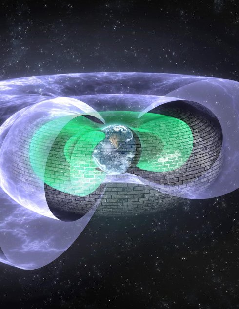 В тысячах километров над Землей обнаружен невидимый щит