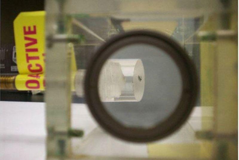 Первый видимый образец плутония обнаружен в хранилище Калифорнийского университета - 1
