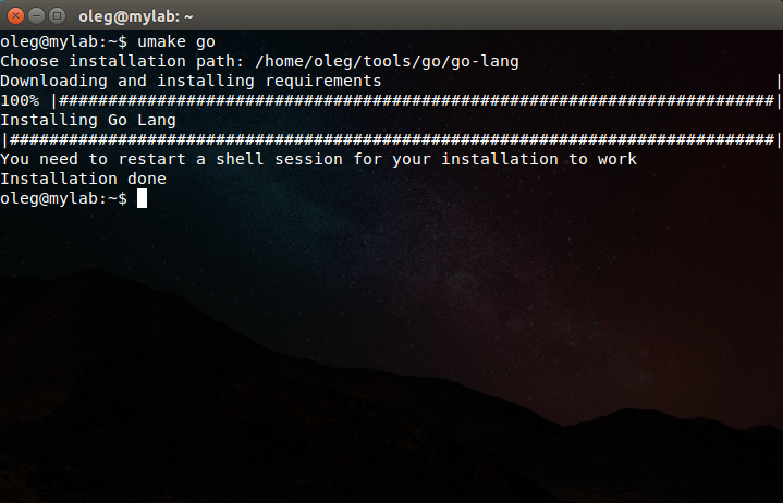 Ubuntu Make — разработчику в помощь - 3