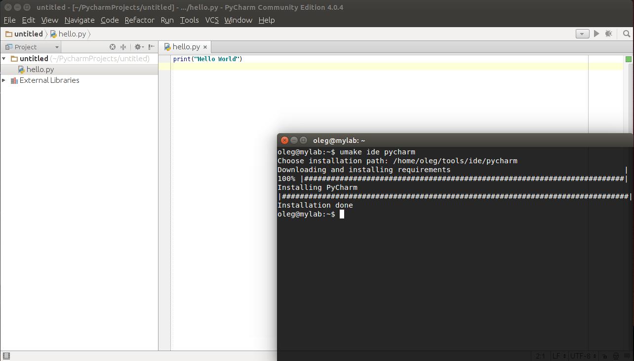 Ubuntu Make — разработчику в помощь - 4