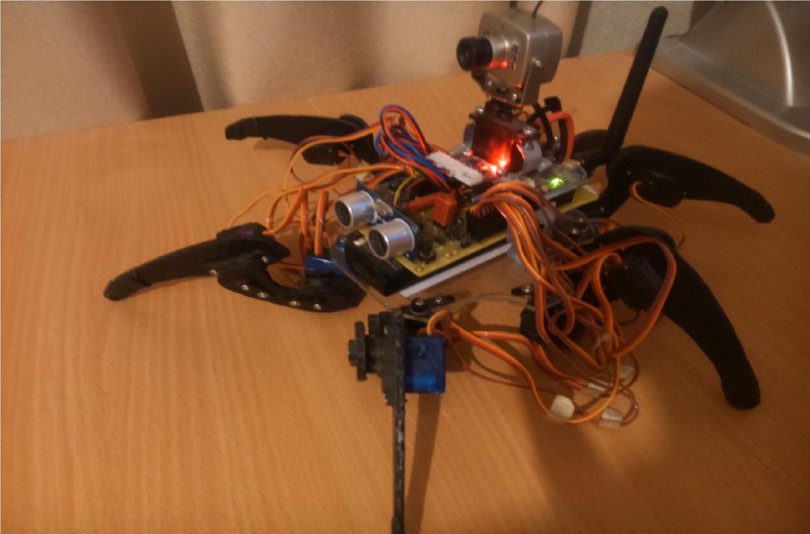 Hexapod-робот, управляемый с ПК - 12