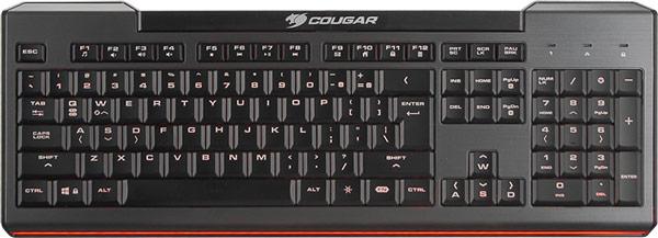 Игровая клавиатура Cougar 200K распознает до 19 одновременных нажатий