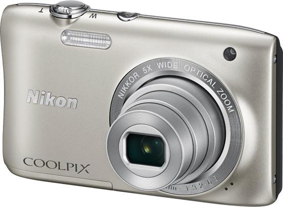 Камера Nikon Coolpix S2900 размерами 95 x 59 x 20 мм весит 119 г