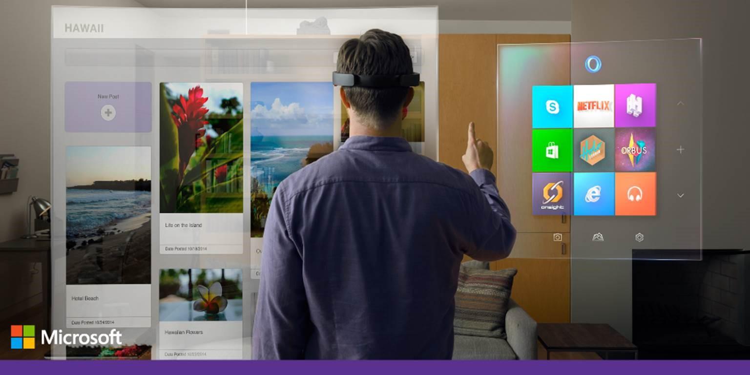 Новая Windows 10 и другие фантастические новинки от Microsoft - 1