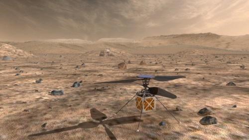 NASA тестируют марсианский вертолёт для будущих миссий - 1