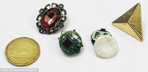 Созданы «умные» сережки, которые открывают путь к женскому сердцу