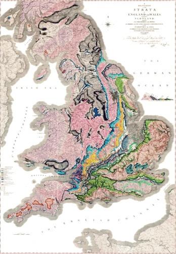 В 2015 году исполняется 200 лет с момента появления первой масштабной геологической карты - 1