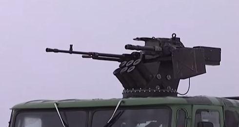 Украинские оружейники объединили гранатомет с пулеметом (видео)