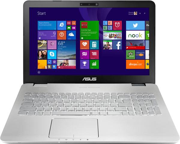 Ноутбук Asus N551JQ комплектуется аккумулятором емкостью 56 Вт∙ч