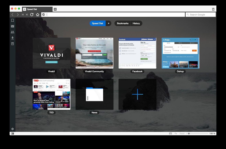 Vivaldi — в чём особенности нового браузера - 1