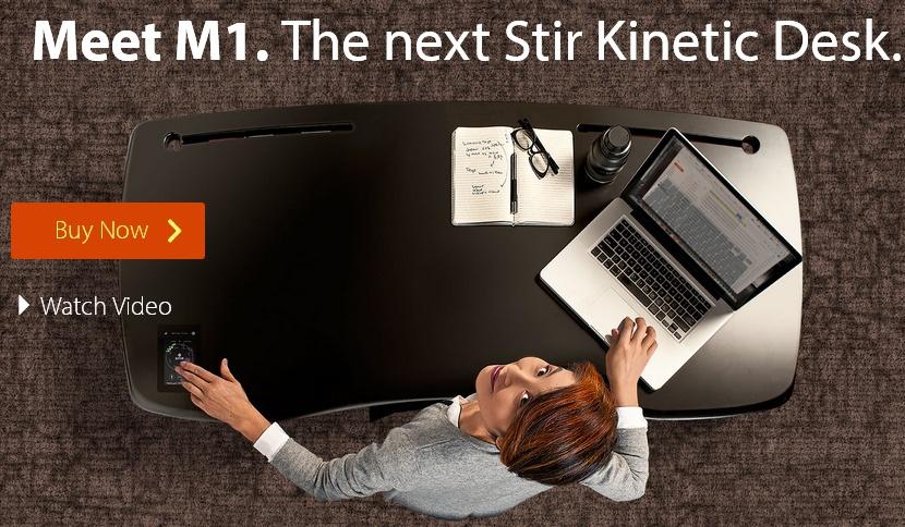 Автоматический стол изменит свою высоту и подскажет вам, когда сидеть, а когда — стоять - 1