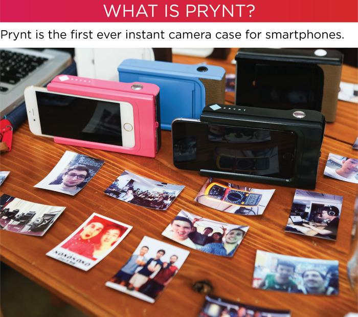 Футляр для смартфонов печатает мгновенные фотографии - 2