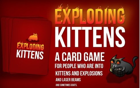 Взрывающиеся котята стали самым популярным проектом на Kickstarter