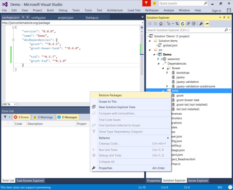 Использование TypeScript (на примере angularjs) в Visual Studio 2015 - 3