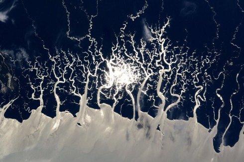 Как выглядит один из самых неисследованных уголков Земли из космоса?