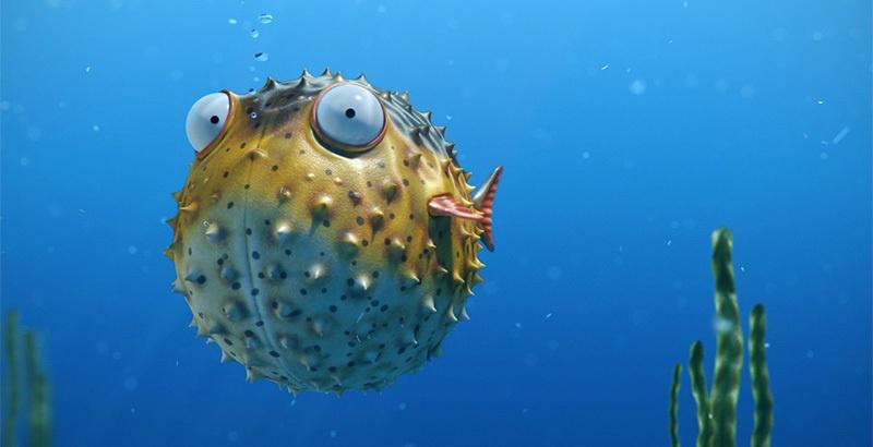 Blowfish на страже ivi - 1