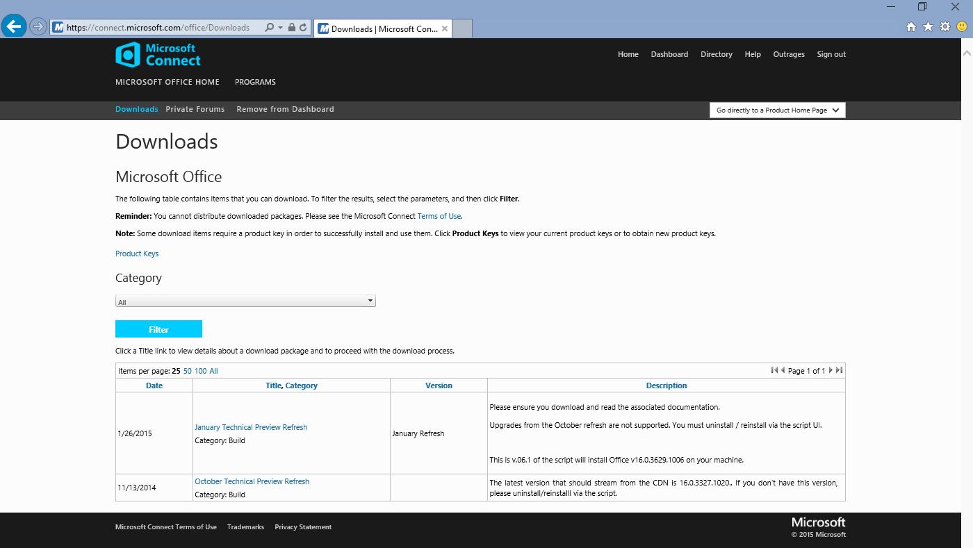 Как загрузить Microsoft Office 16 Preview с сайта Microsoft - 5