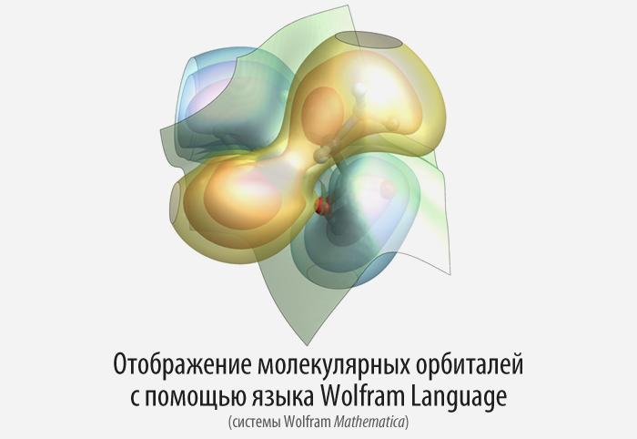Отображение молекулярных орбиталей с помощью языка Wolfram Language (Mathematica) - 1