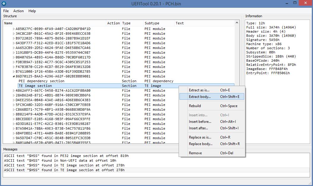 Еще немного реверс-инжиниринга UEFI PEI-модулей на другом полезном примере - 3