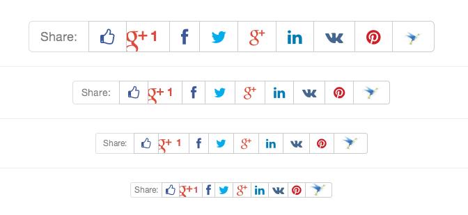Избавляемся от JavaScript в социальных кнопках (Facebook, VK, Twitter и др.) - 1