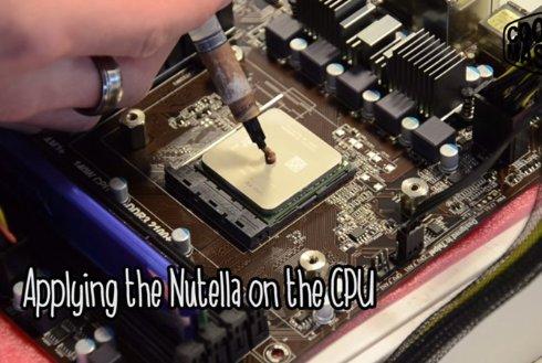 Нутеллу использовали для ремонта компьютера