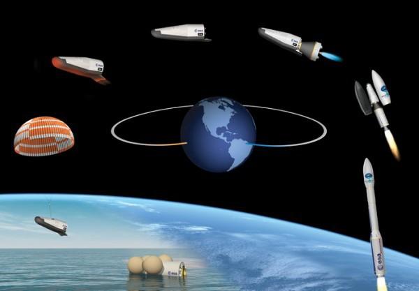Космический самолёт IXV вернулся на Землю - 1