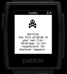 Pebble: акселерометр, пример использования - 1