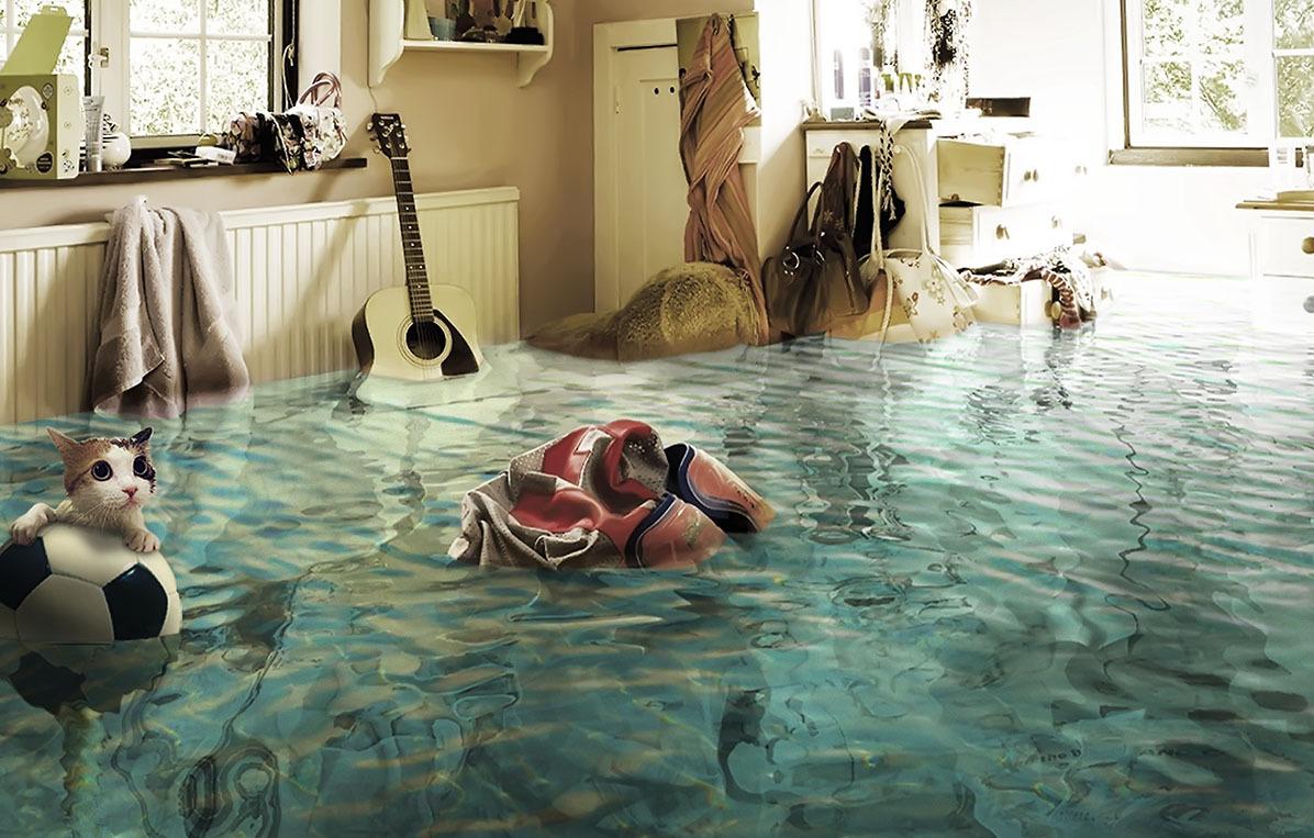 что делать после потопа в квартире
