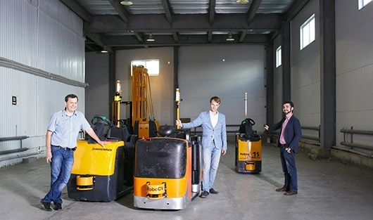 Российский разработчик автопилотов для складского транспорта RoboCV привлек три миллиона долларов инвестиций - 1