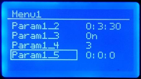 Реализация многоуровневого меню для Arduino с дисплеем - 1