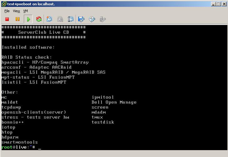 Загрузочный сервер — как загрузочная флешка, только сервер и по сети - 4