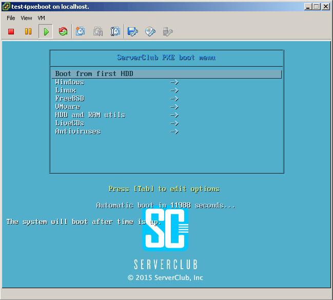 Загрузочный сервер — как загрузочная флешка, только сервер и по сети - 1