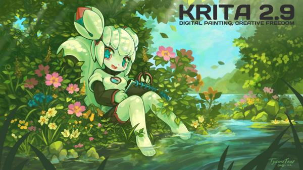 Krita 2.9: релиз, осуществленный благодаря Kickstarter - 1