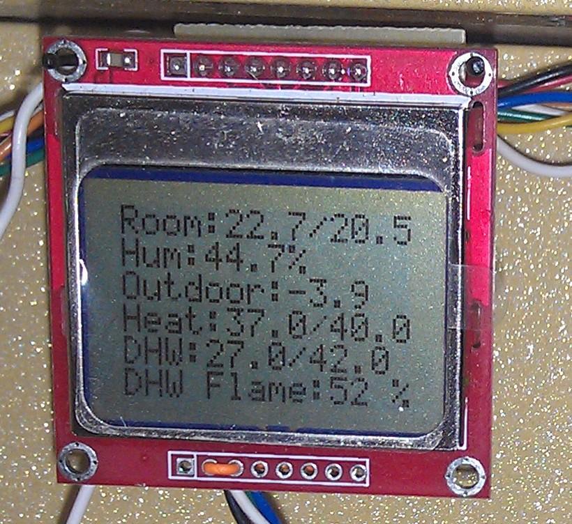 Еще один термостат на Arduino, но с OpenTherm - 18