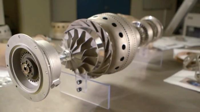 Первый реактивный двигатель, напечатанный на 3D-принтере - 1